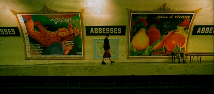 abbesses do filme