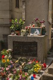 túmulo de Jim Morrison