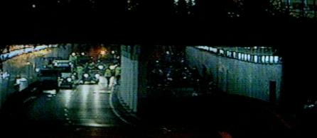 tunel perto da ponte de LAlma do filme