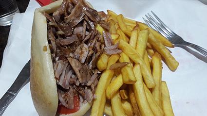 Sanduíche Kebab