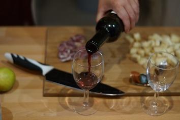 Esse foi o primeiro vinho que os Amorecos tomaram na França
